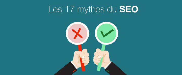 Les 5 mythes les plus fréquemment répandus sur le référencement